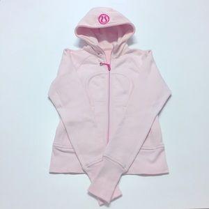 lululemon Scuba Hoodie, baby pink, size 2